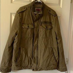 Levi's men's khaki jacket size xl